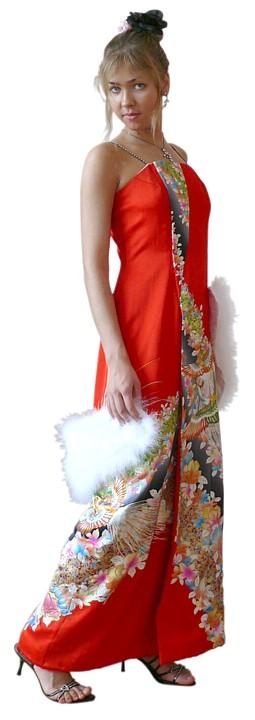 Кимоно Платье Женское Купить